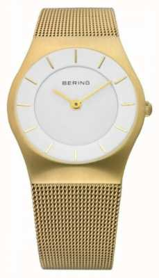 Bering | Womens Watch Gold Mesh Strap | 11930-334