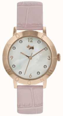 Radley Ladies Radley Highgate Wood Watch Rose Gold Pink Strap RY2538