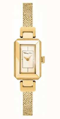 Thomas Sabo Womens Stainless Steel Yellow/gold Bracelet, Gold Dial WA0331-246-207-23