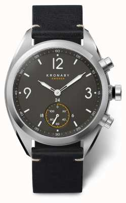 Kronaby Apex Smartwatch | Black Strap | A1000-3114 S3114/1