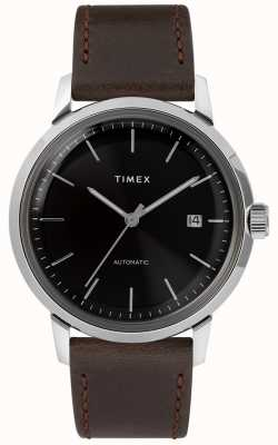 Timex Marlin Automatic | Brown Leather Strap | TW2T230007U