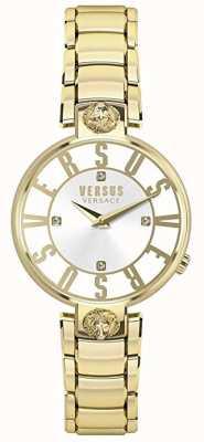 Versus Versace Womens Kristenhof | Silver Dial | Gold Stainless Steel VSP490618