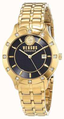 Versus Versace Womens Brackenfell | Blue Dial | Gold Stainless Steel VSP460318