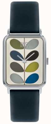 Orla Kiely | Ladies Watch | Small Stem Dial | Navy Blue Strap | OK2241