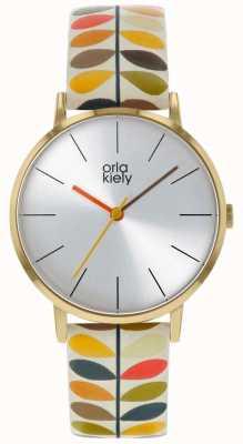 Orla Kiely | Ladies Patricia Watch | Stem Print OK2246