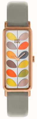 Orla Kiely | Ladies Stem Watch | Grey Strap | OK2288