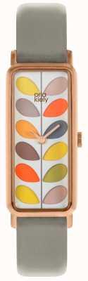 Orla Kiely | Ladies Stem Watch | Grey Strap | OK2288