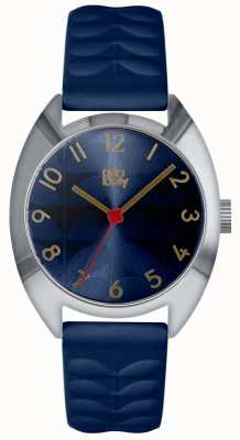 Orla Kiely | Ladies Beatrice Watch | Navy Blue Sun Ray Dial | OK2289