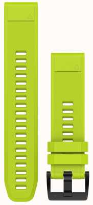 Garmin Amp Yellow Strap Only QuickFit 22mm 010-12496-02