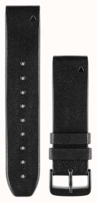 Garmin Black Perf. Leather Strap QuickFit 22mm Fenix 5 / Instinct 010-12500-02