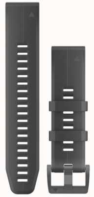 Garmin Black Rubber Strap Only QuickFit 22mm 010-12740-00