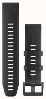 Garmin Black Rubber Strap Only QuickFit 22mm 010-12740-00