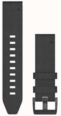 Garmin Black Rubber Strap Only QuickFit 22mm 010-12740-01