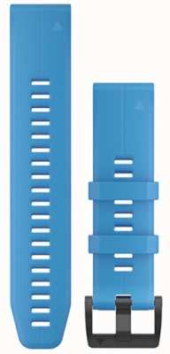 Garmin Light Blue Rubber Strap QuickFit 22mm Fenix 5 / Instinct 010-12740-03