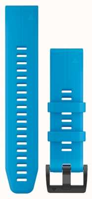 Garmin Cyan Blue Rubber Strap Only QuickFit 22mm 010-12740-03