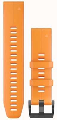 Garmin Orange Rubber Strap QuickFit 22mm Fenix 5 / Instinct 010-12740-04