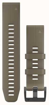 Garmin Coyote Tan Silicone Strap Only QuickFit 22mm 010-12740-05