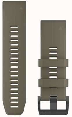 Garmin Tan Rubber Strap QuickFit 26mm Fenix 5X / Tactix Charlie 010-12741-04