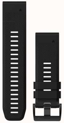 Garmin Black Rubber Strap QuickFit 26mm Fenix 5X / Tactix Charlie 010-12517-00