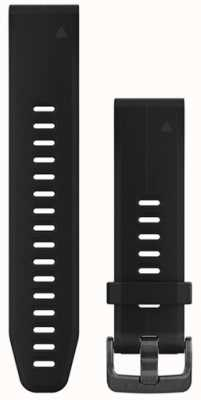 Garmin Black Rubber Strap QuickFit 20mm Fenix 5S 010-12739-00
