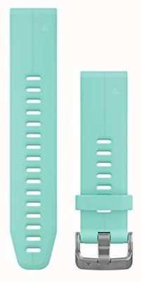 Garmin Blue Rubber Strap Only QuickFit 20mm 010-12739-04