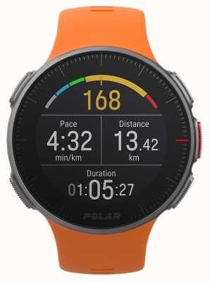 Polar Vantage V Orange GPS Multisport Premium Training HR 90070738
