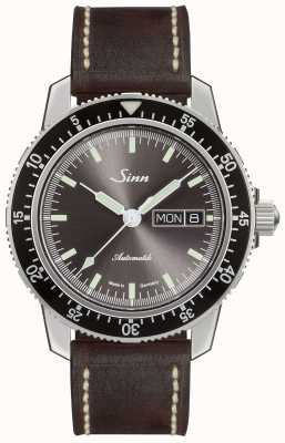Sinn 104 St Sa I A | Dark Brown Vintage Leather 104.014 DARK BROWN VINTAGE LEATHER