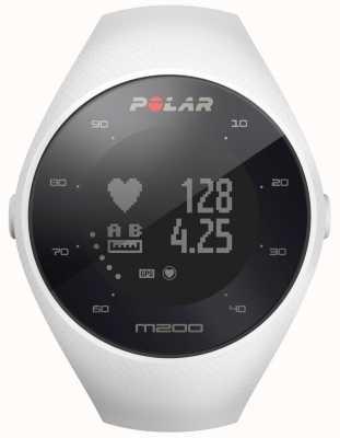 Polar Unisex White M200 GPS Wrist HR M/L 90067741