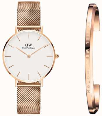 Daniel Wellington Ladies Classic | Petite Melrose 32mm | Watch Gift Set DW00500204
