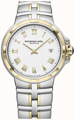 Raymond Weil Parsifal Two-Tone | Gold And Stainless Steel | Mens Watch 5580-STP-00308
