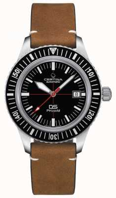 Certina Mens DS PH200M Automatic Black Dial C0364071605000