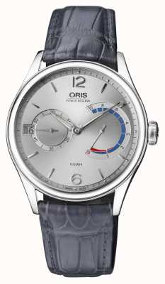 ORIS Artelier 43mm | Power Reserve | Grey Leather Strap | 01 111 7700 4061-set 1 23 71fc