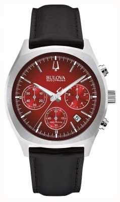 Bulova Mens Accutron II Red Chronograph Day Date 96B238