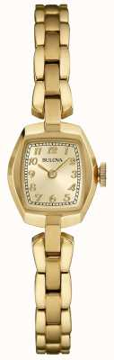 Bulova Women's Gold Plated Quartz 97L155