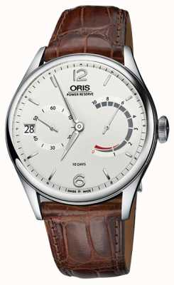 ORIS Artelier Calibre 111 Brown Leather Strap 01 111 7700 4063-set 1 23 83fc