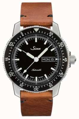 Sinn St Sa I Classic Pilot Watch Cowhide Vintage Leather 104.010-BL50205002401A
