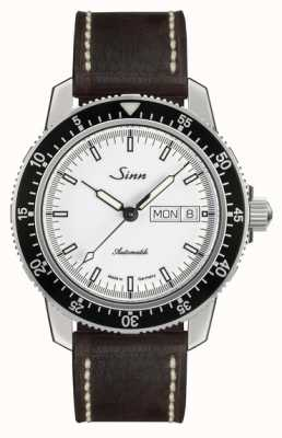 Sinn St Sa I W Classic Pilot Watch Light Brown Calfskin Vintage L 104.012 BROWN CALFSKIN LEATHER