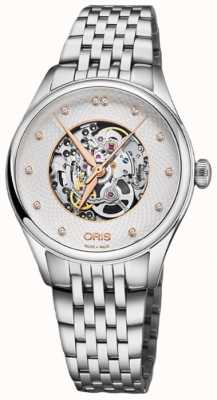 Oris Artelier Skeleton 33mm Mens Watch 01 560 7724 4031-07 8 17 79