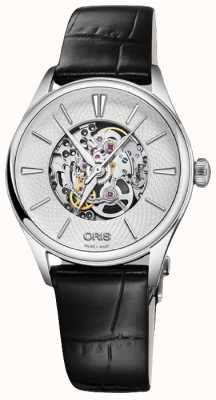 Oris Artelier Skeleton 33mm Mens Watch 01 560 7724 4051-07 5 17 64FC