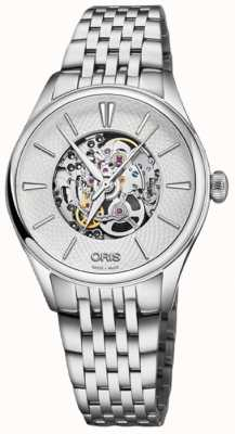 Oris Artelier Skeleton 33mm Mens Watch 01 560 7724 4051-07 8 17 79
