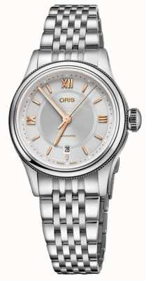 ORIS Classic Date 28.5mm Ladies Watch 01 560 7724 4051-07 5 14 31