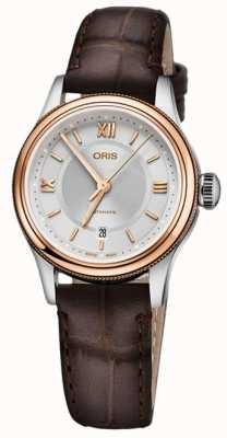 ORIS Classic Date 28.5mm Ladies Watch 01 561 7718 4371-07 5 14 32