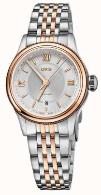 Oris Classic Date 28.5mm Ladies Watch 01 561 7718 4371-07 8 14 12