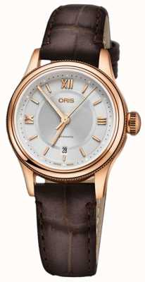 ORIS Classic Date 28.5mm Ladies Watch 01 561 7718 4375-07 5 14 35