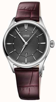 ORIS Artelier Date 33mm Ladies Watch 01 561 7724 4053-07 5 17 63FC