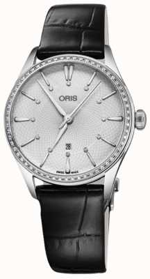 ORIS Artelier Date 33mm Ladies Watch 01 561 7724 4951-07 5 17 64FC