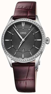 Oris Artelier Date 33mm Ladies Watch 01 561 7724 4953-07 5 17 63FC