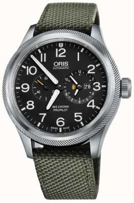 Oris Big Crown ProPilot Worldtimer Mens Watch 01 690 7735 4164-07 5 22 14FC
