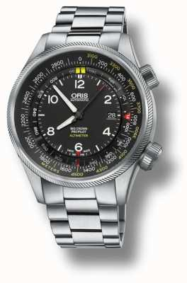 Oris Big Crown ProPilot Black Dial Stainless Steel Men's Watch 01 733 7705 4164-Set 8 23 19