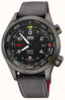 Oris Big Crown ProPilot Altimeter with Feet Scale 47mm Mens Watch 01 733 7705 4234-Set5 23 16GFC